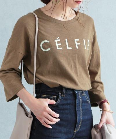 ロゴTシャツ CELFIE