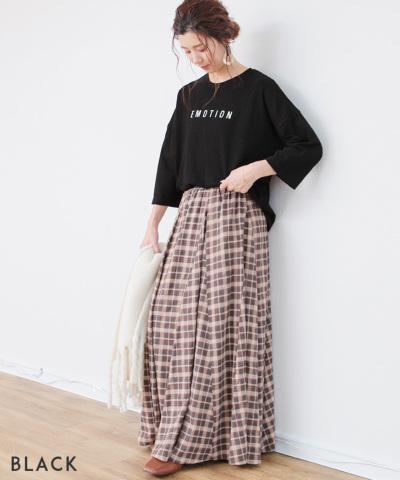 長袖ロゴTシャツ-EMOTION-