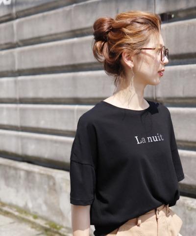 シルバーロゴTシャツ